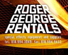 Roger George Rentals, Special Effects Equipment Rentals
