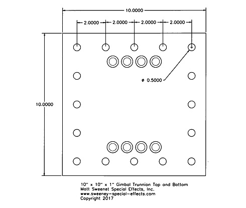 Here is the hole layout for the top and bottom plates.
