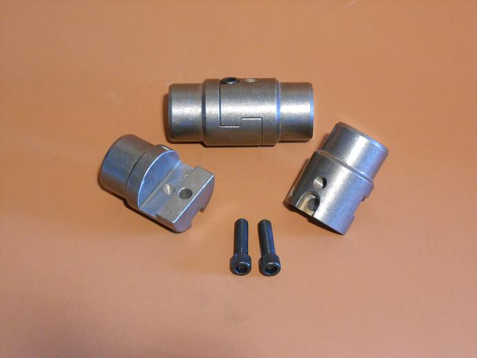 Tube clamps for inch wall tubing mm