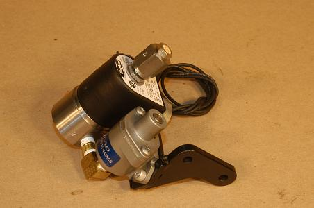 The Actuator.  24VDC or 110VAC.  Solenoid temperature range is -20 to +185 degrees Fahrenheit (-29 to 85 celsius).