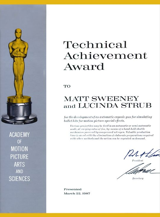 technical achievement award