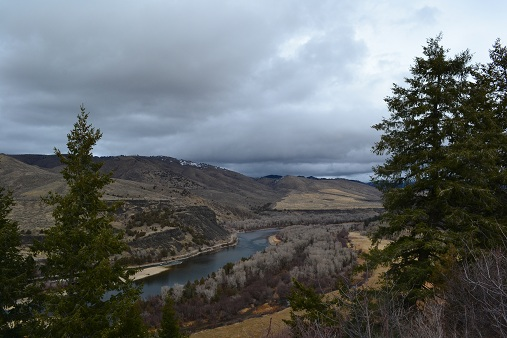 A view of the Snake River in Eastern Idaho.  11-19-12